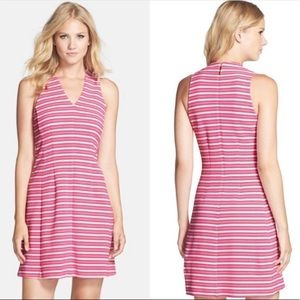 Lilly Pulitzer Briana Fit & Flare Pink Dress Small